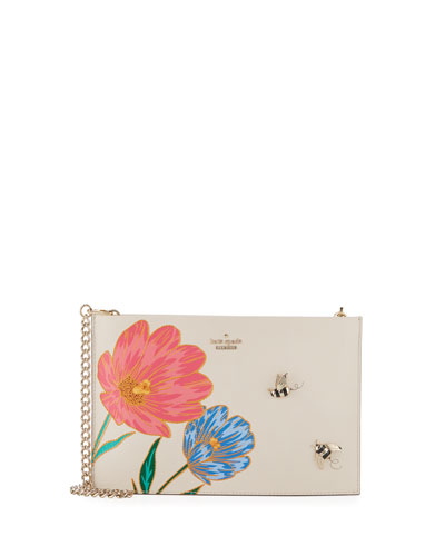 picnic perfect bee sima clutch bag