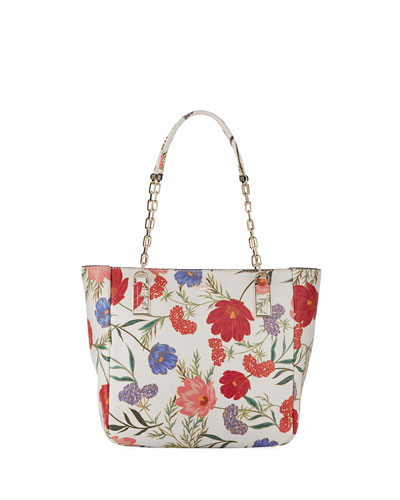 kingston drive blossom vivian tote bag