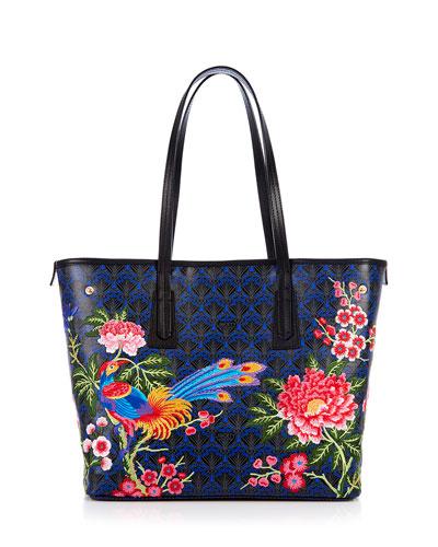 Elysian Embroidery Little Marlborough Tote Bag