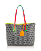 Neon Little Marlborough Tote Bag
