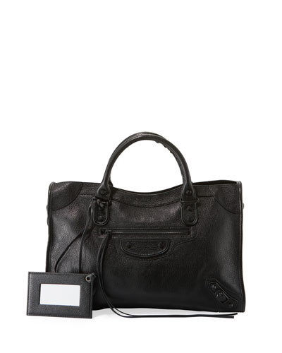 Metallic Edge City AJ Tote Bag