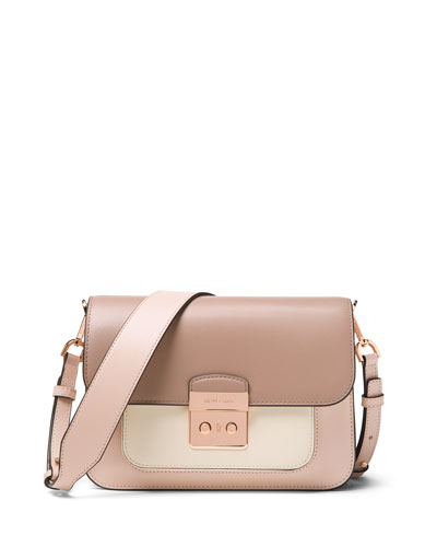 Michael Michael Kors  SLOAN EDITOR LARGE SHOULDER BAG - ROSE HARDWARE