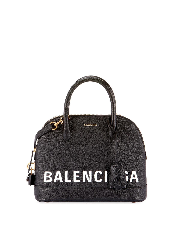 Ville Leather Top Handle Bag