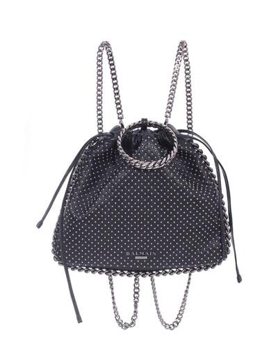 Leather Studded Bracelet Backpack