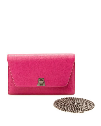 Anouk Leather Clutch Bag
