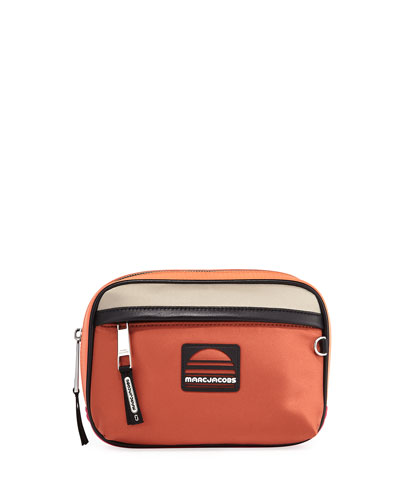 Colorblock Fabric Belt Bag