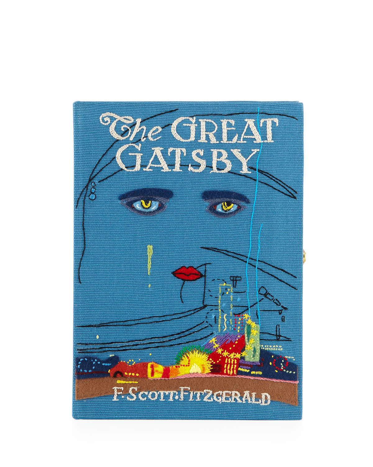 The Great Gatsby Book Clutch Bag