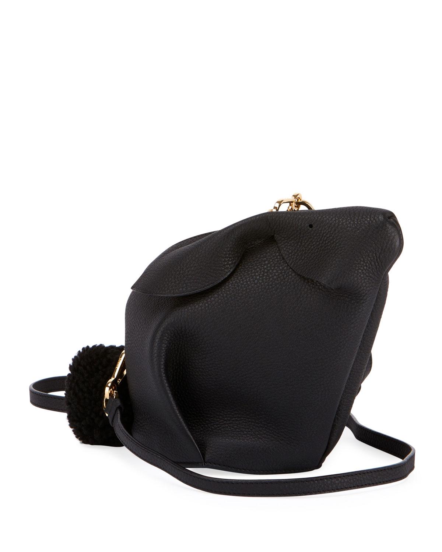 Bunny Mini Leather Crossbody Bag