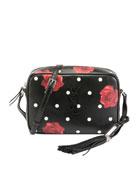 Loulou Medium Rose-Print Shoulder Tote Bag