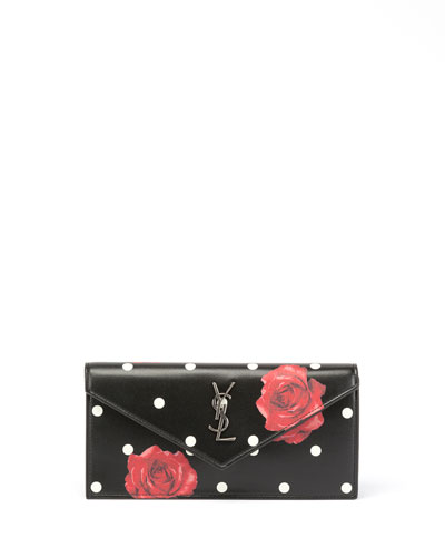 Le Sept Small V-Flap Clutch Bag