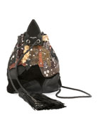 Anja Python Multicolor Bucket Bag