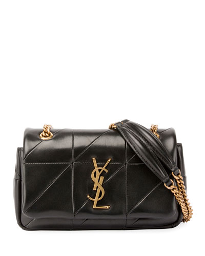 Jamie Monogram YSL Small Diamond-Quilted Chain Shoulder Bag