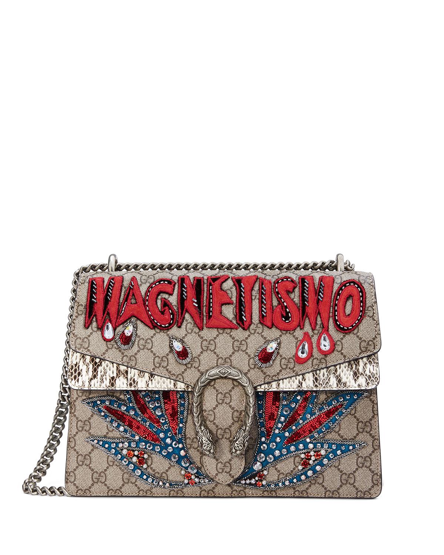 Dionysus Magnetismo Medium GG Supreme Shoulder Bag