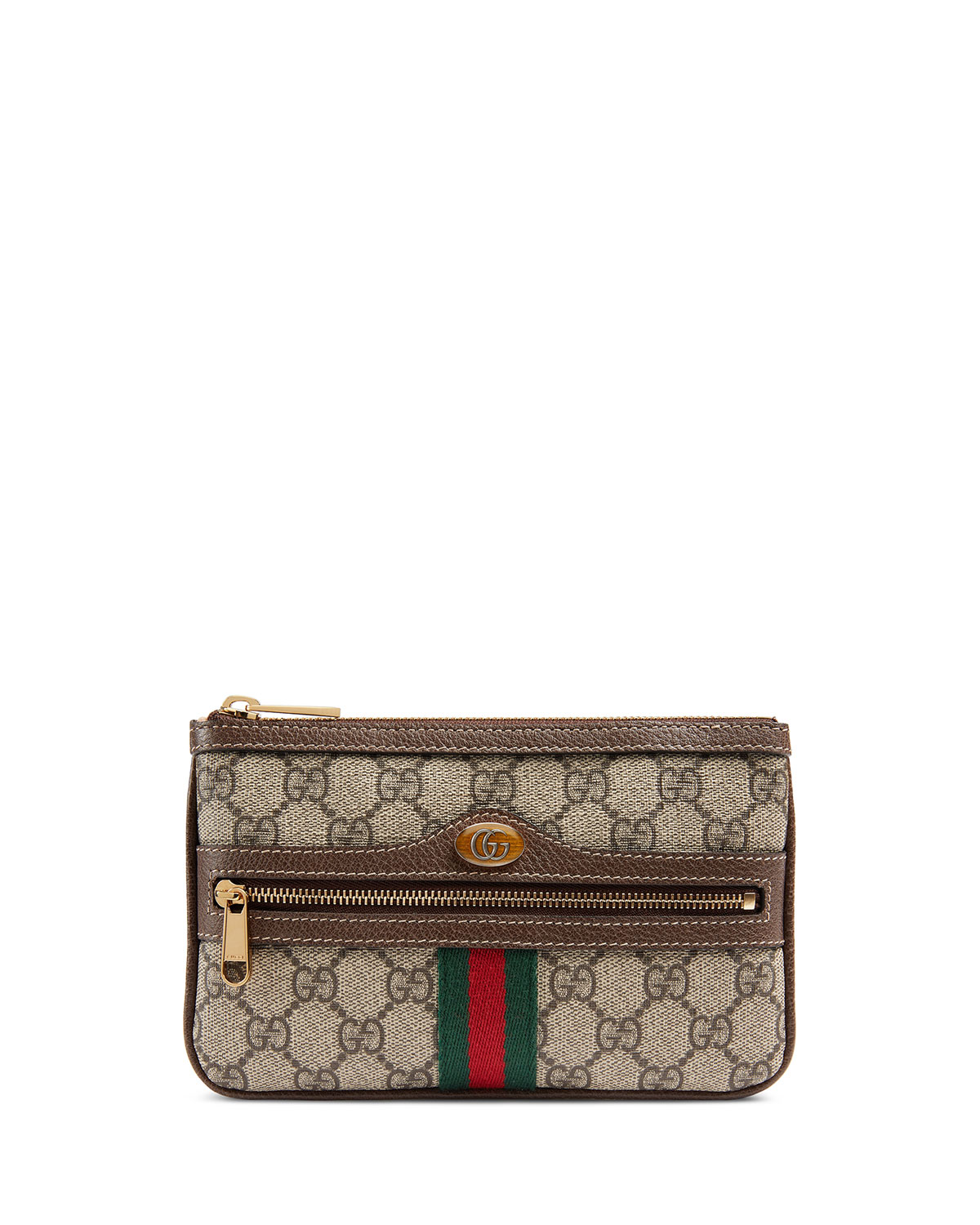 Ophidia Small GG Supreme Pouch Clutch Bag