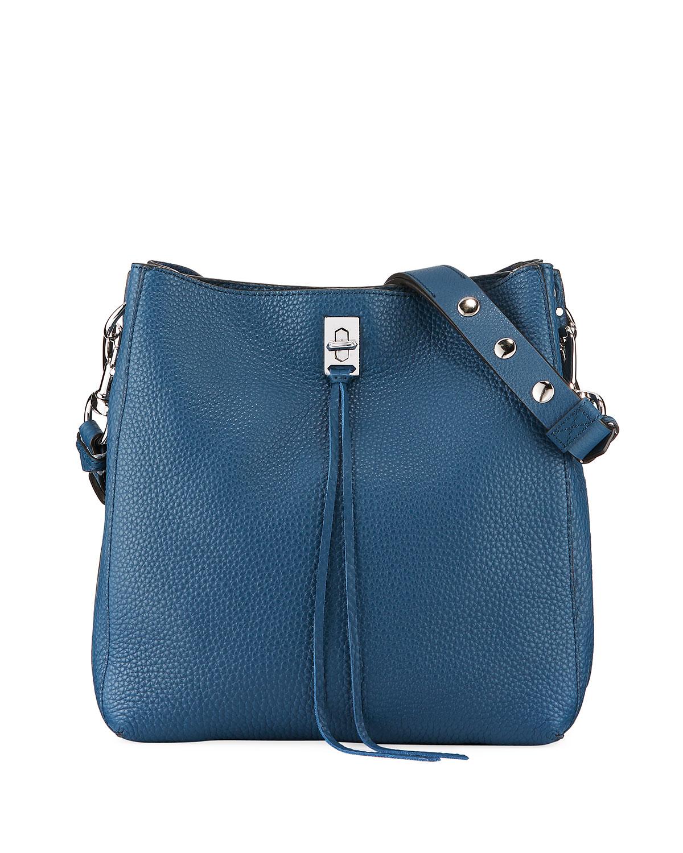 Darren Pebbled Leather Shoulder Bag