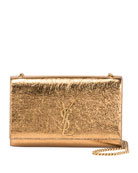 Kate Medium Metallic Leather Shoulder Bag
