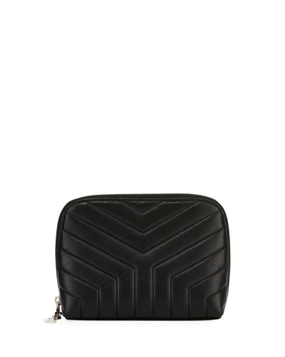 Loulou Teardrop Small Quilted Cosmetics Bag