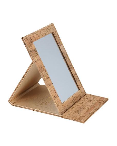 Stephanie Johnson Madeira Cork Folding Mirror