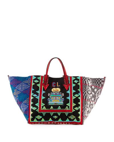 Manilacaba Multi-Pattern Tote Bag