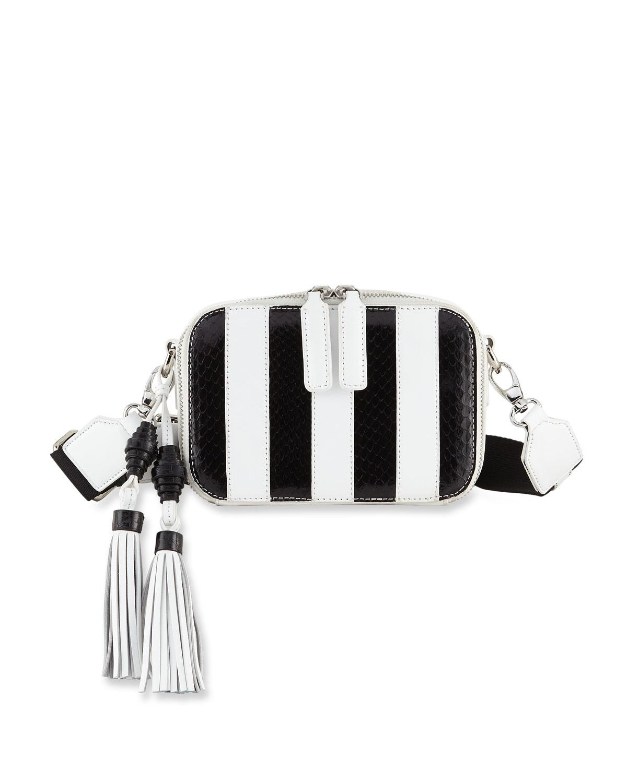 Sophie Striped Camera Bag