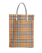Vintage Check Rainbow Medium Shopper Tote Bag