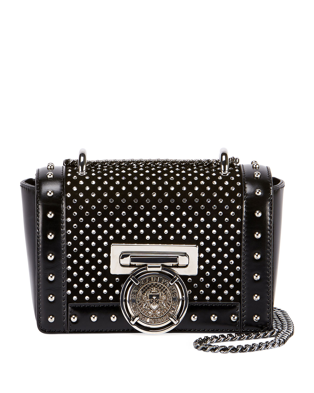 Baby Box Studded Shoulder Bag