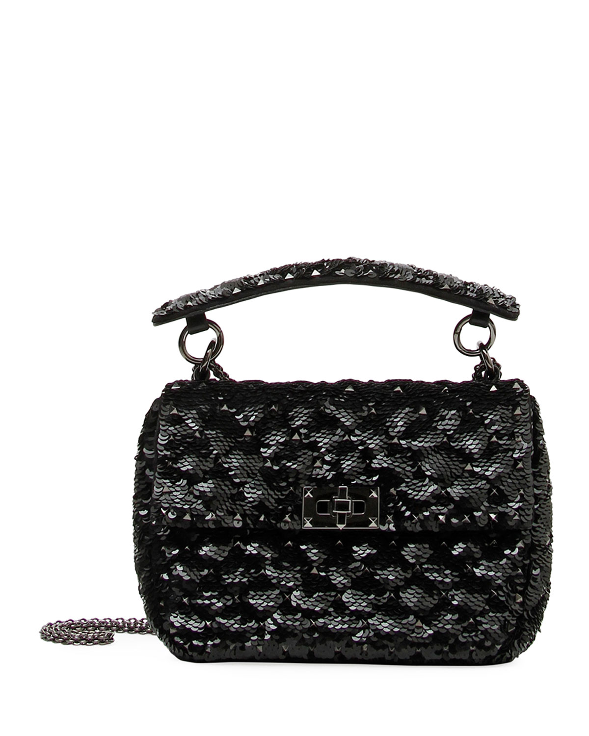 Spike. It Medium Heart Shoulder Bag