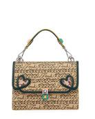 Fendi Kan I Fendi Love Regular Shoulder Bag