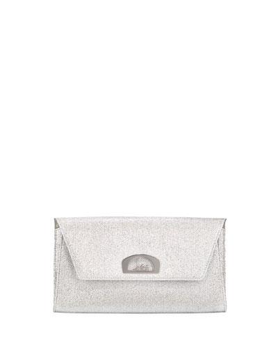 Vero Dodat Glitter Clutch Bag