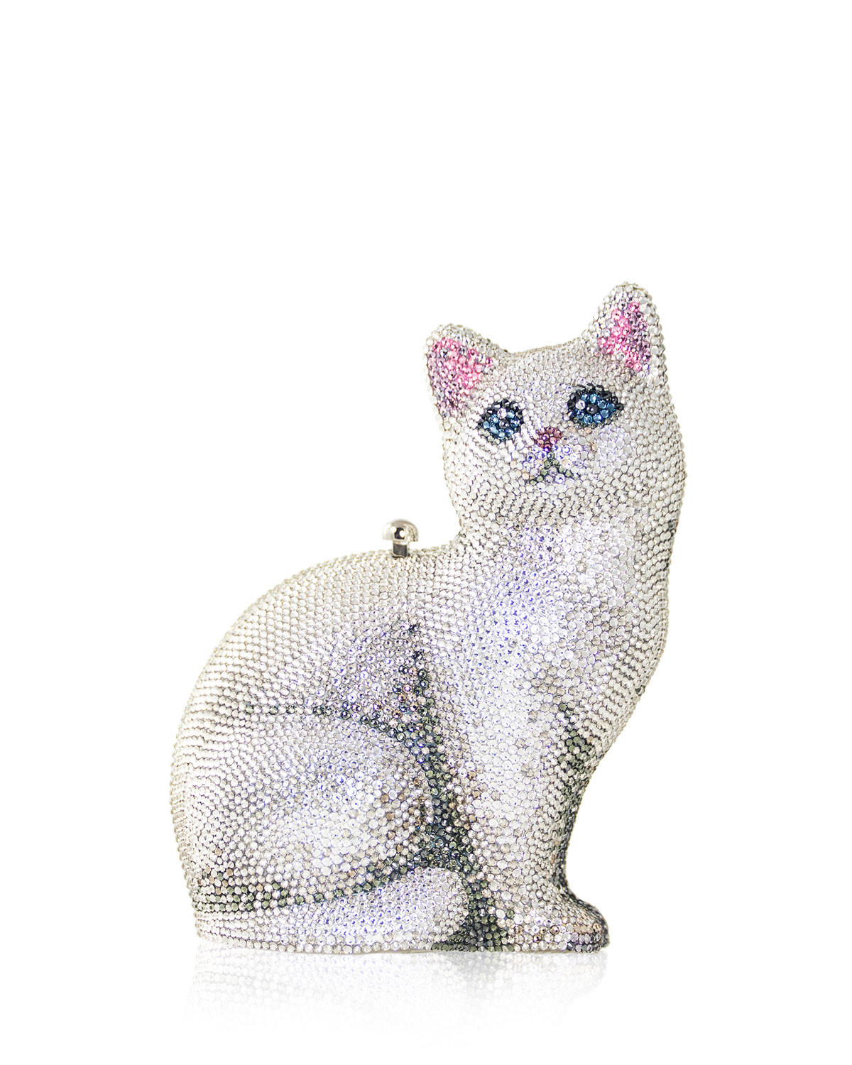 Cat Marie Crystal Clutch Bag