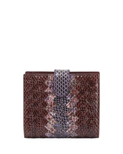 Mini Intrecciato Bi-Fold Wallet