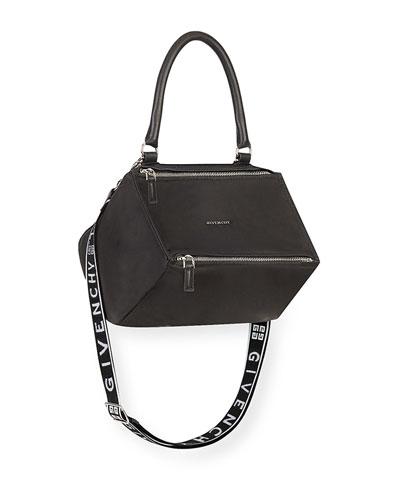 d9aff9da47 Quick Look. Givenchy · Pandora Small Fabric Satchel Bag ...