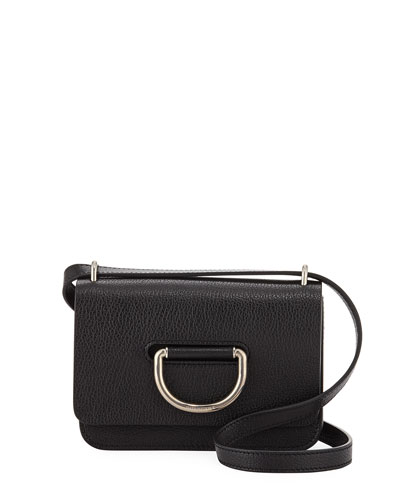 Mini D-Ring Leather Crossbody Bag