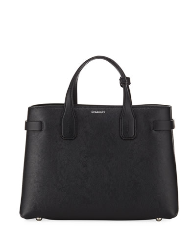 Banner Medium Derby Leather Tote Bag