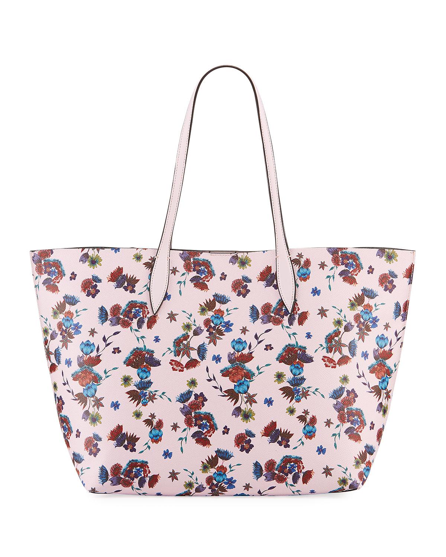 Heather Large Floral Tote Bag