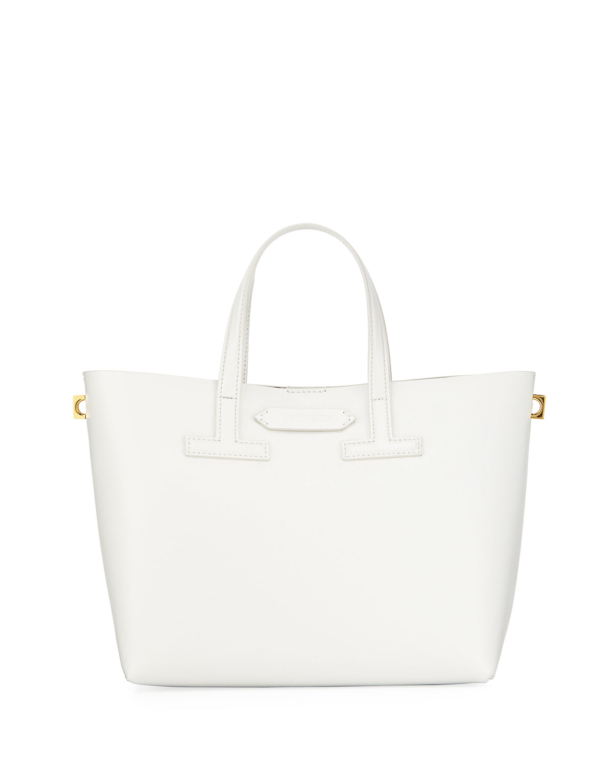 Mini T Saffiano Tote Bag