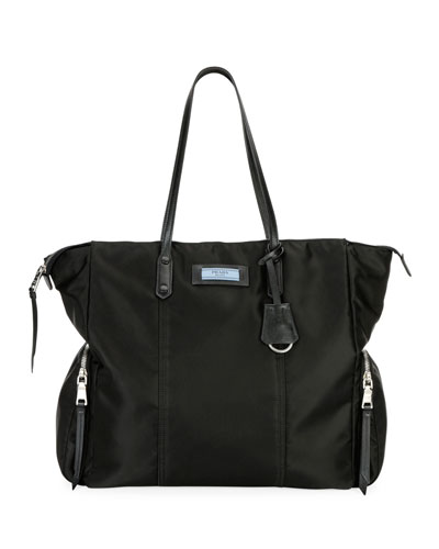 Tessuto Etiquette Shoulder Bag