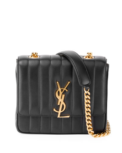Vicky Medium YSL Monogram Chain Crossbody Bag