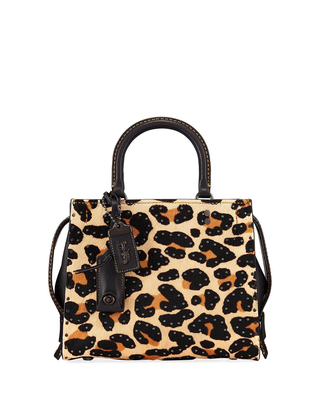 Rogue 25 Haircalf Leopard Tote Bag
