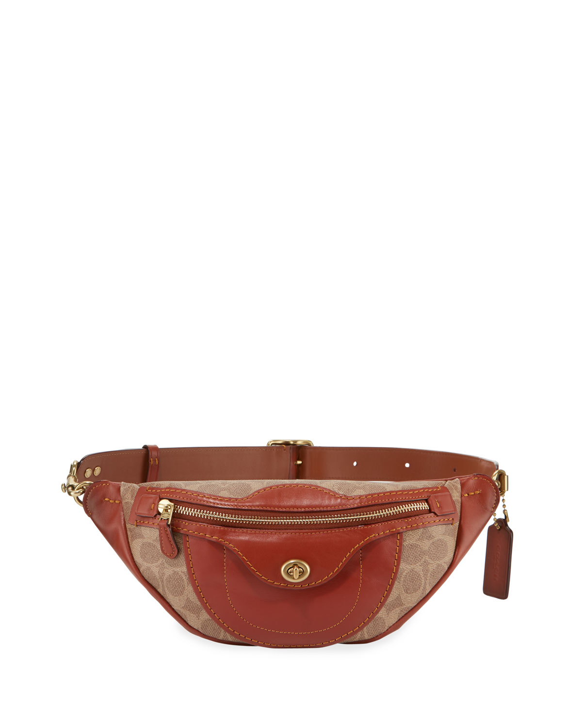 Campus Signature Coated Canvas Fanny Pack Bag
