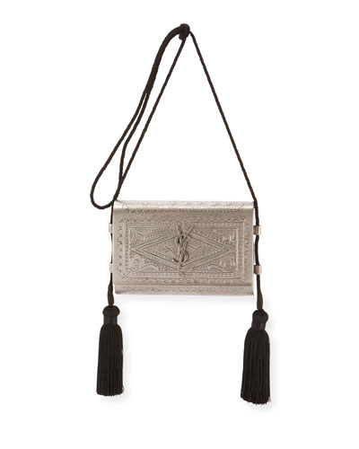 Small Kate Etched Crossbody Bag