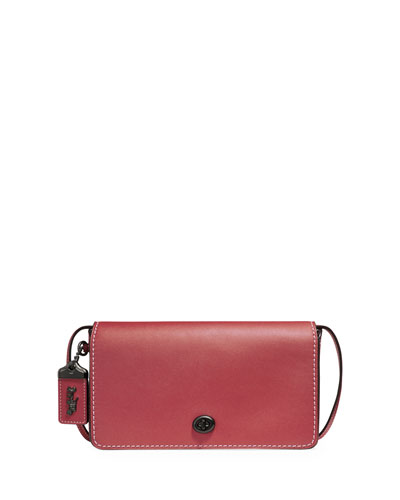 Dinky Small Leather Crossbody Bag