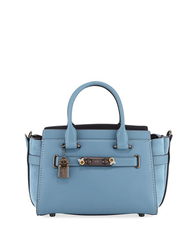 Swagger 27 Mixed Tea Rose Satchel Bag