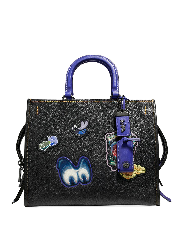 DISNEY X COACH Snow White Rogue Patches Tote Bag