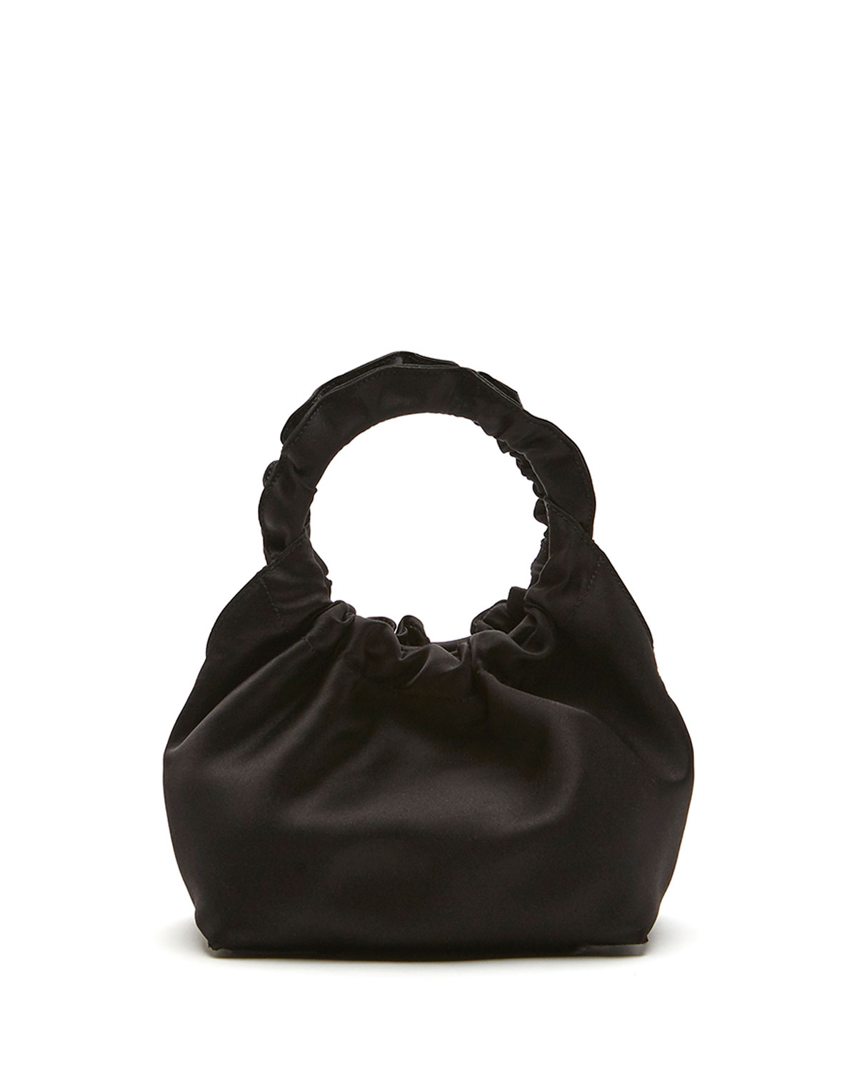 Double Circle Small Top Handle Bag