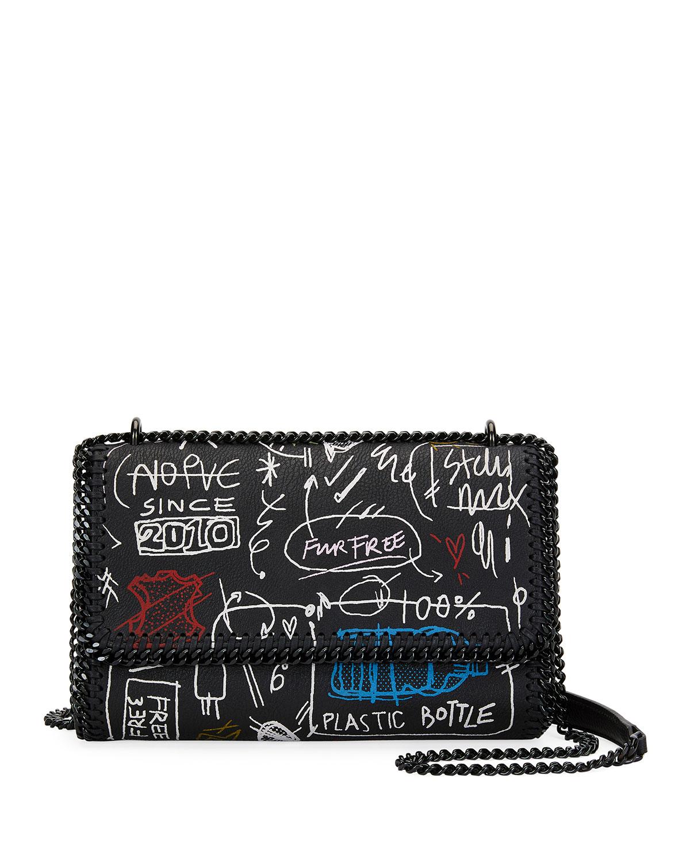 Graffiti Chain Falabella Shoulder Bag