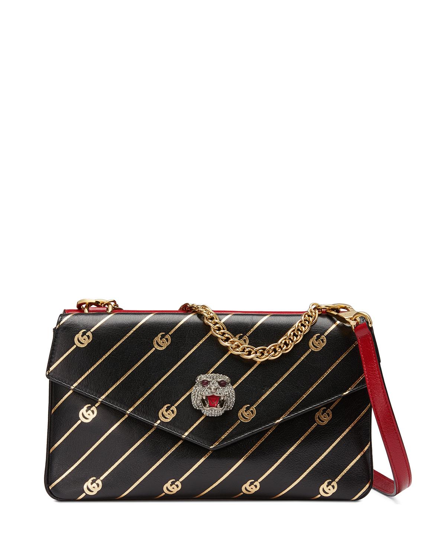 Gucci Thiara Medium Leather Double Shoulder Bag