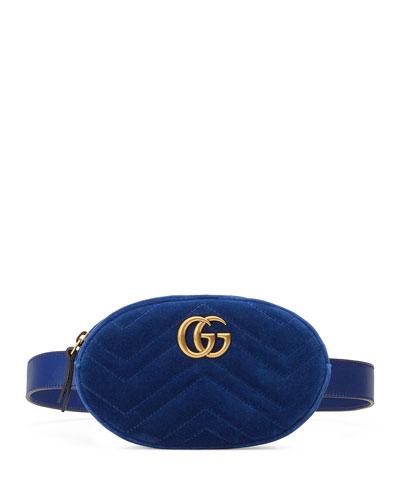 GG Marmont Small Matelassé Belt Bag
