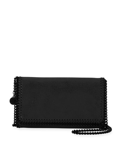 Falabella Shaggy Deer Crossbody Clutch Bag