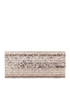 Jimmy Choo Sweetie Wiz Glitter Clutch Bag